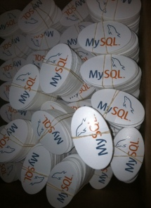 MySQL Stickers