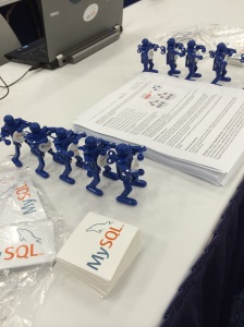 MySQL is a proud sponsor of the Texas Linuxfest and yes we will have Boogiebots at the booth!